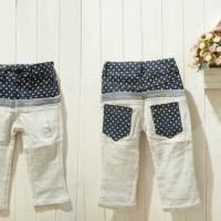 Baju Anak - Gray Polka Pant (PA-049)