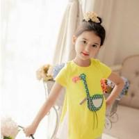 Baju Anak - Bird Set Yellow (GI-591)