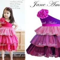 Baju Anak - Jane Amber Magenta (GI-586)