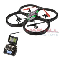 WLTOYS V666 4 CH Drone w/ 5.8 Ghz Live First Person View 2.0 MP Camera