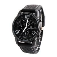jam tangan hitam - Jam Tangan Olah Raga GT-02