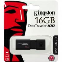 Kingston 16GB, USB 3.0, DT100G3/16GB, Resmi