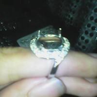 ikat ring cangkang cincin wanita sirkon rodium silfer