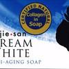 kojie san sabun dream white 65gr anti aging + collagen 100% Original