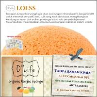 Jual Konjac Sponge Organic O'Life LOESS / Pembersih Pori  (KSHB06) Murah