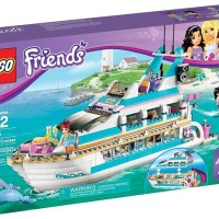 Toys LEGO Friends Dolphin Cruiser 41015
