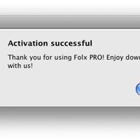 FOLX 4 PRO Downloader for Mac OS X license 3 users