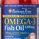 DOUBLE STRENGTH OMEGA 3 FISH OIL 1200MG