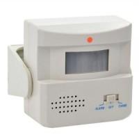 alarm sensor gerak bel pintu selamat datang infrared