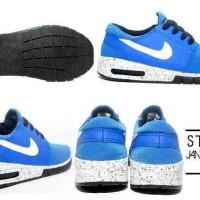 nike stefan janoski max electric blue sneaker keren