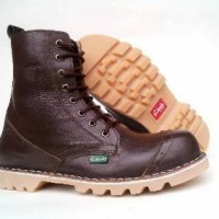 Sepatu Clarks Boot Safety Leather 8Hole