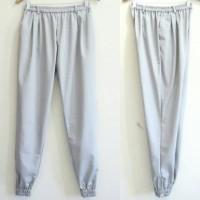 Zipper Elastic Jogger Pants