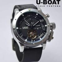 Jam Tangan U-Boat Rubber Tourbillon Automatic