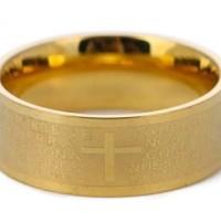 Golden Padre Ring