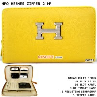 Dompet HPO 2HP HERMES 21 LEATHER KUNING