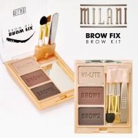 Milani Brow Fix Brow Kit, Medium 02