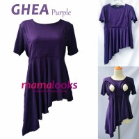 Baju Menyusui Mamalooks GHEA Purple
