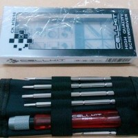 Obeng Set Cellkit H3016 High Quality 8 In 1 Screwdriver