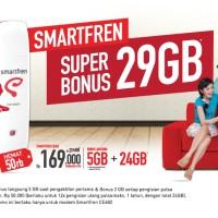 Smartfren CE682 - USB Modem EVDO Rev.A - Super Bonus 29GB*
