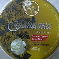 GARDENIA Body Scrub - Mencerahkan kulit dan sebagai anti oksidan