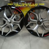 harga Velg Power Tarantula / Star Black - Croom VARIO110 - Beat - Mio - Xeon Tokopedia.com