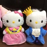 Hello Kitty and Dear Daniel McDonalds Kingdom King & Queen