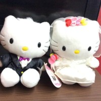 Hello Kitty and Dear Daniel McDonalds Wedding Gown