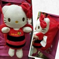 Tempat Tissue Gantung Hello Kitty Bee
