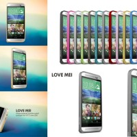 Love Mei Metal Bumper Case HTC One E8