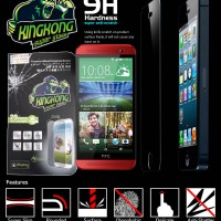 Anti Gores Kingkong Super Tempered Glass HTC One E8