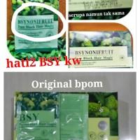 Bsy shampo noni LOGO2 MURAH strip hijau Bpom tanpa brosur didalam Printing tanggal rapi