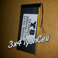 Baterai/Battery Tab China/Advan 5,3cm X 12cm (2 Kabel) 5000mAh