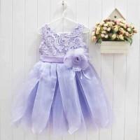 Dress Lil Rose Purple