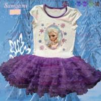 Dress Samgami elsa purple