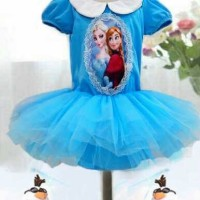 Dress Lil Rose ~ Frozen