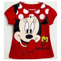 Kaos Anak Karakter Minnie Mouse