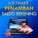 Software Penambah Saldo Rekening
