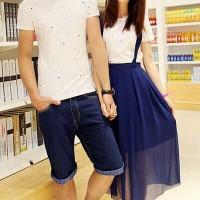 Dress Couple / Terusan Pasangan / Baju Kembar  DRESS PANJANG