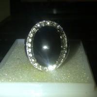 Cincin batu meteor/satam/moldavite
