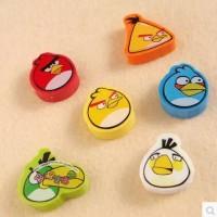 Penghapus Lempeng Motif Angry Birds (1 Set Isi 6) {DAS-00051}
