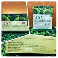 BSY Noni Black Hair Magic Shampoo menghitamkan,kualitas IMPORT