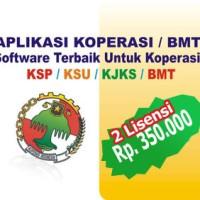 Aplikasi Koperasi KSP/KSU/BMT/KJKS (2 Lisensi)