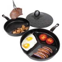 Divided Pan Set 3 In 1