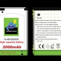 Hippo Baterai Blackberry - Amstrong / Davis 9320 / 9220 JS1 (2000MAH)