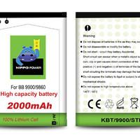 Hippo Baterai Blackberry - Dakota Monza JM1 (2000MAH)