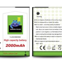 Hippo Baterai Blackberry - Javelin Storm Odin DX1 (2000MAH)