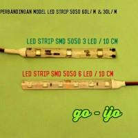 Led strip / Fleksibel 5050 50cm (30mata) tahan air