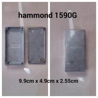 Box aluminium slim hammond 1590G aluminium diecast untuk DIY boxmod