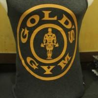 Singlet Baju Fitness Gold Gym