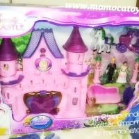 mainan rumah istana boneka princess